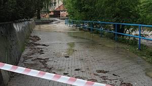 Velká voda ve Zlínském kraji 22. 5. 2019