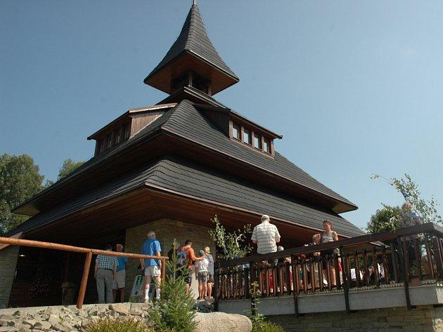 Folklorní festival Léto na Soláni.