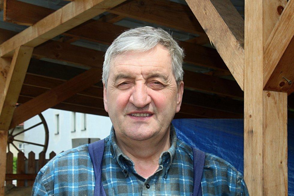 Nový Hrozenkov - kolář Augustin Krystyník.
