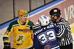 Hokejisté Vsetína se domů vrací za stavu 1:1 na zápasy.