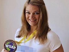 Zuzana Žlebková vybojovala letos v říjnu (2016) v Německu titul mistryně světa v bench pressu.