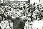 Revoluční rok 1989 ve Vsetíně.