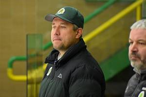 trenér hokejových juniorů Vsetína Petr Fojtů