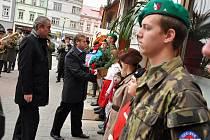 Představitelé města Valašské Meziříčí a tamní veřejnost si v pátek 28. října 2011 připomněli 93. výročí vzniku samostatného Československa