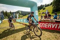 Oblíbený cyklistický závod, jehož konání bylo kvůli covidu do poslední chvíle nejisté, přilákal 250 dospělých sportovců a 200 dětí.