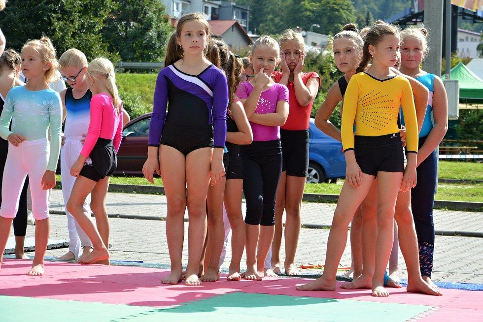 Historicky první Den sportu se uskutečnil 3. září 2021 v okolí zimního stadionu Na Lapači ve Vsetíně.