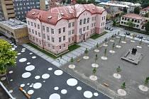 Náměstí Svobody ve Vsetíně je po rekonstrukci