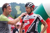 Jan Jobánek, vítěz Bike Valachy.