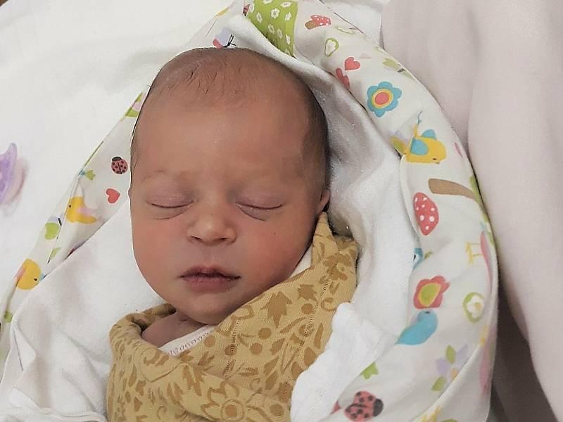 Josefína Ondryášová, Horní Bečva, narozena 18. září 2021 ve Valašském Meziříčí, míra 48 cm, váha 3430 g