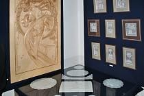 V zuberském muzeu Na Petrohradě ve čtvrtek 21. března 2013 otevřeli výstavu dřevořezeb a tradiční zuberské výšivky.