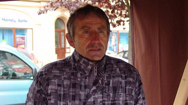 Farmář Bohumil Kučera.