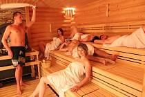Saunový svět ve Wellnes v hotelu Horal.