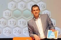 Moderátor vědomostní soutěže A-Z kvíz Aleš Zbořil. Ilustrační foto.