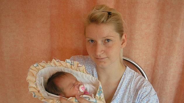 Vanesa Badačová, Tichá, 3 050 g, nar: 25. 9. v nemocnici v Meziříčí