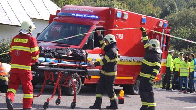 Mezinárodní taktické cvičení policie Treinčanský kraj a Zlínský kraj