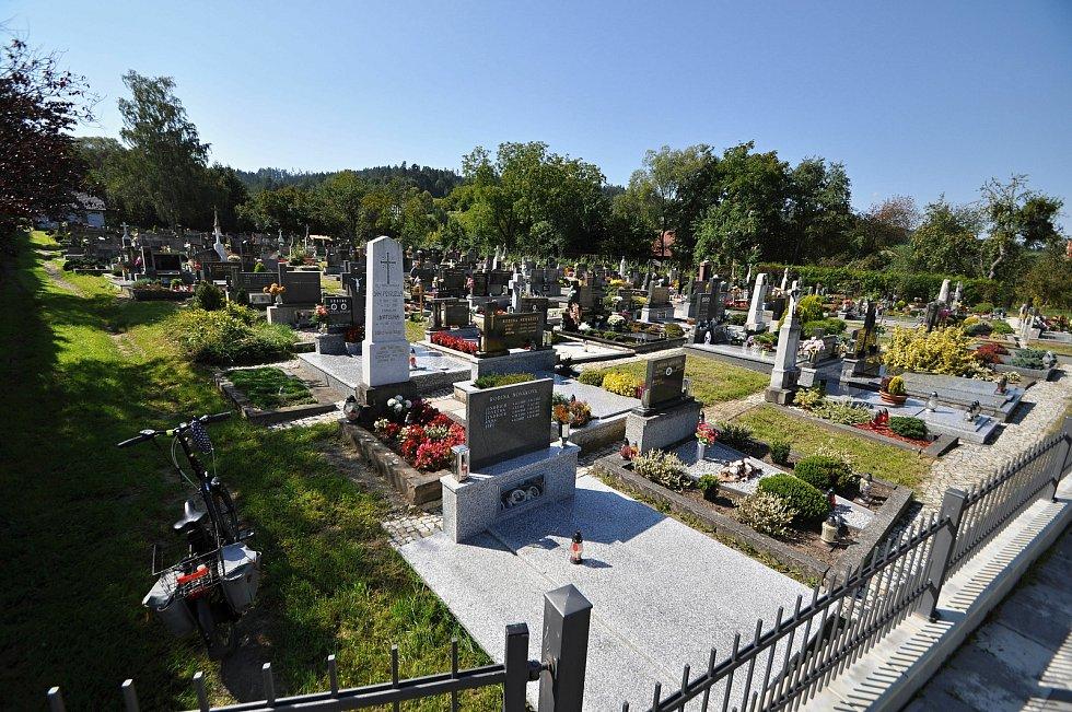 Vidče - hřbitov