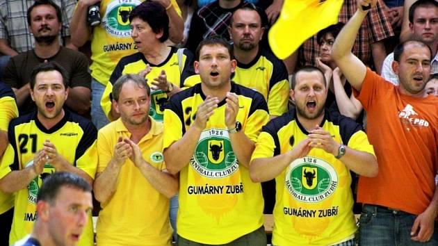 Fanoušci Zubří mohli po utkání s Jičínem slavit.
