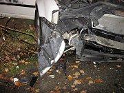 Při dopravní nehodě v Zašové se zranily tři osoby