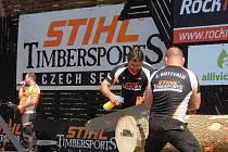 V Liptále bylo v sobotu dopoledne rušno. Exhibici zde předvedli nejlepší závodní drvoštěpi z Čech a Moravy.