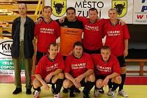 Futsalisté HC Rožnov pod Radhoštěm.