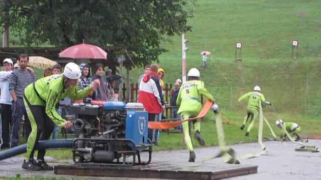 V sobotu 24. července se v Tisňavách ve Velkých Karlovicích pořádal 23. ročník hasičské soutěže O valašský širák.