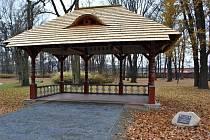 Altán stával v parku od konce 19. století, ale v sedmdesátých letech minulého století byl stržen.