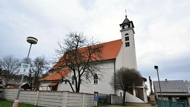 Valašská Polanka - kostel sv. Jana Křtitele.