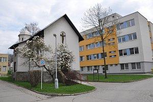 Kaple sv. Růženy v areálu Vsetínské nemocnice.