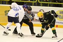 Valašské hokejové derby mezi VHK Robe Vsetín a HC Bobři Valašské Meziříčí.