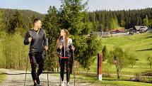 Hotel Horal - nordic walking