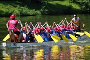 V sobotu 28. července 2018 se uskutečnil 9. ročník kelečského poháru dračích lodí na rybníku Chmelník. O titul bojovalo na dvou set metrové trati devět posádek.