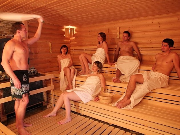 Saunový ceremoniál welness hotelu Horal.