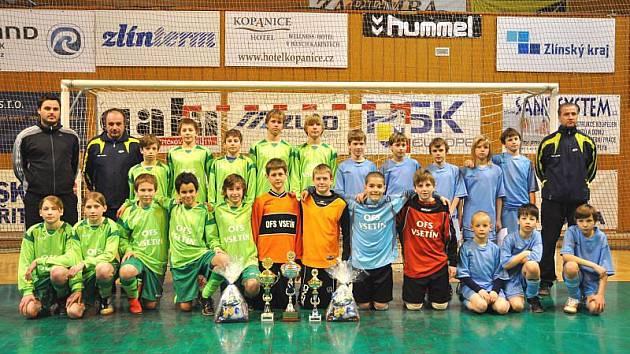 Oba výběry OFS Vsetín na turnaji KFS řádily a vyhrály všechny poháry.