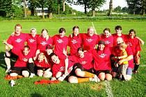 Děvčata z Valašského Meziříčí vyhrála moravskou divizi žen a zaslouženě postupují do divize. V posledním zápase porazila Stachovice 2:0.