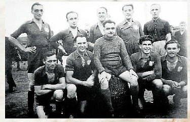 FOTBAL. První fotbalisté SK Kateřinice v letech 1942 - 1945.