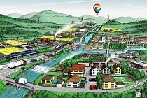 Ukázka grafické podoby zábavných online her, který na svém webu spustilo Muzeum regionu Valašsko.