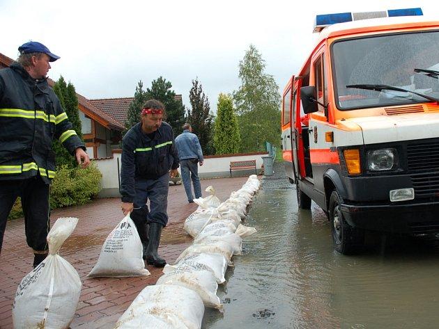 Velká voda na Valašsku