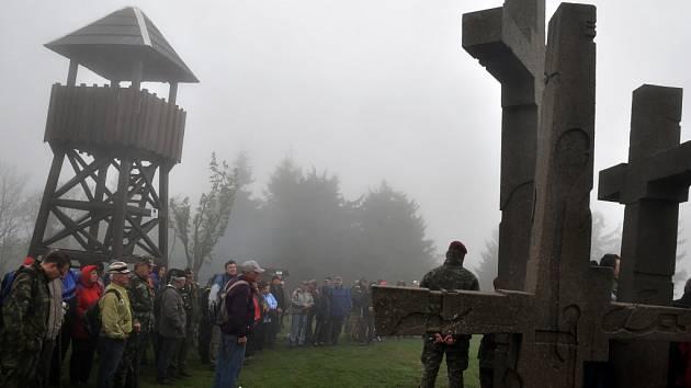 U památníku Tři kříže na Ztracenci na česko-slovenském pomezí se v neděli 12. května 2013 uskutečnilo tradiční setkání Čechů a Slováků. Společně si připomněli 68. výročí konce druhé světové války
