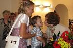 Manželé Milena a Zdeněk Chlápkovi si v sobotu (2. 7. 2011) připomněli 60 let společného života