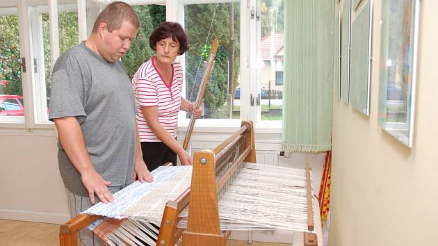 Ve rokytnické pobočce denního stacionáře Naděje ve Vsetíně uspořádali ve čtvrtek den otevřených dveří