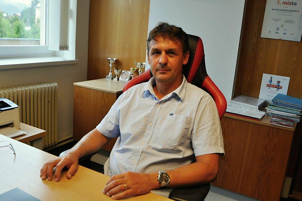 Halenkov - starosta Halenkova Radek Chromčák.