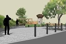 Před dokončením jsou práce na vybudování návsi v Leskovci na Vsetínsku. Jak bude centrum vesnice vypadat, představuje architektonická studie.