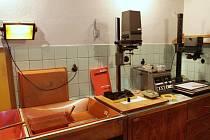 Na snímku fotokomora vsetínského muzea v létě 2014.