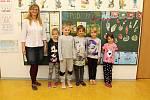 Základní škola Lhota u Vsetína, 1. třída, třídní učitelka Jarmila Tomanová