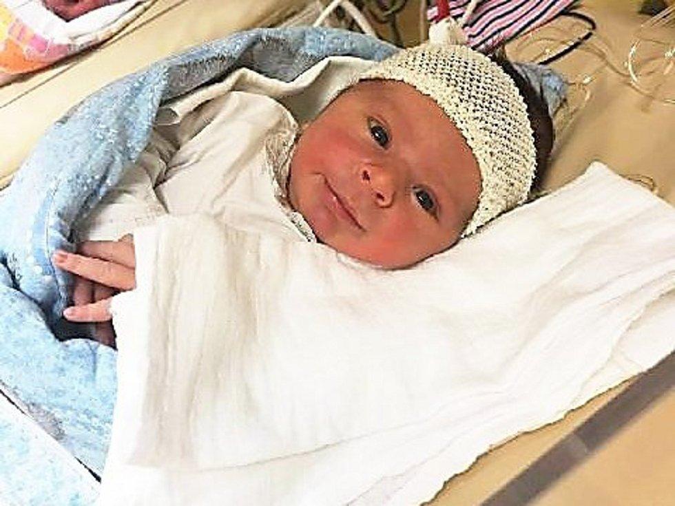 Štěpán Hynek, Nový Jičín, narozen 7. dubna ve Valašském Meziříčí, míra 50 cm, váha 3700 g