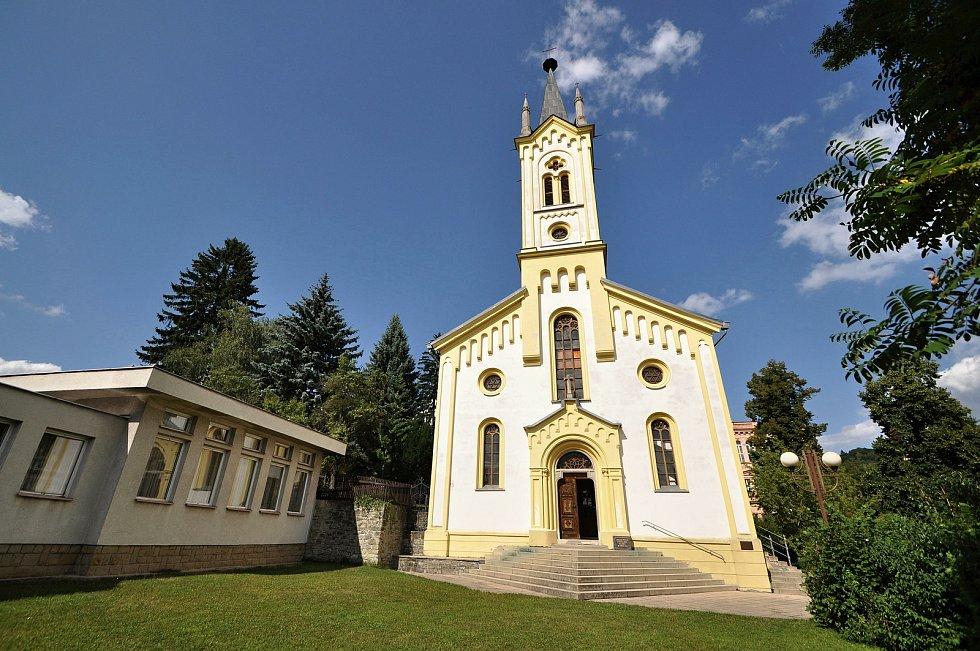 Vsetín - kostel Dolního sboru Českobratrské církve evangelické