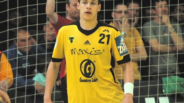 Tomáš Číp ještě v dresu mateřského Zubří