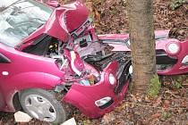 Při nehodě u Halenkova zemřela řidička