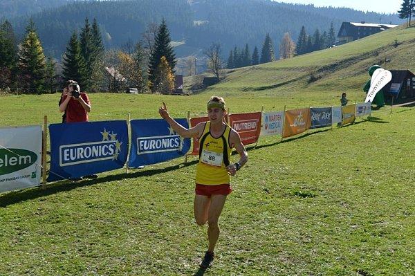 Valachy Tour 2013.Vítěz Jakub Bajza.