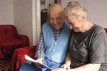 Manželé Marta a Ludvík Šimečkovi se i po padesátiletém manželství mají stále rádi